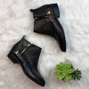 Franco Sarto Shoes - Franco Sarto Sz 8 black leather booties